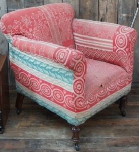 patch armchair