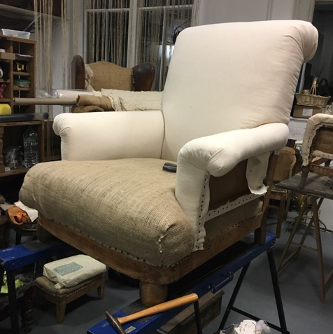 French Wingback process